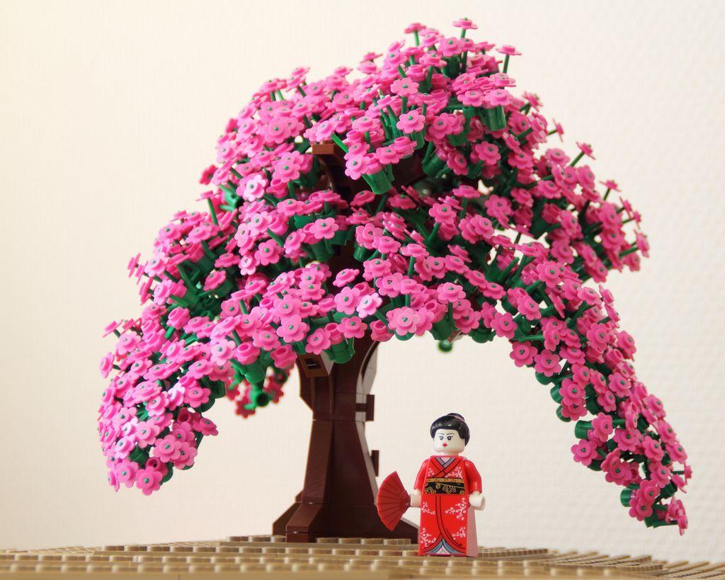 Cherry Blossoms By Studio Tidepool Lego Tree Lego Lego Art