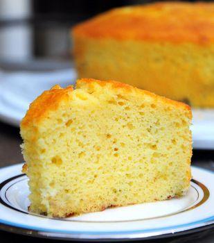 Buttermilk Chiffon Cake Baking Bites Cake Recipes Chiffon Cake Yummy Food Dessert