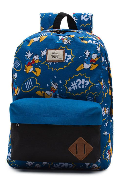 VANS X DISNEY Old Skool II Backpack - Donald Duck 22489733506