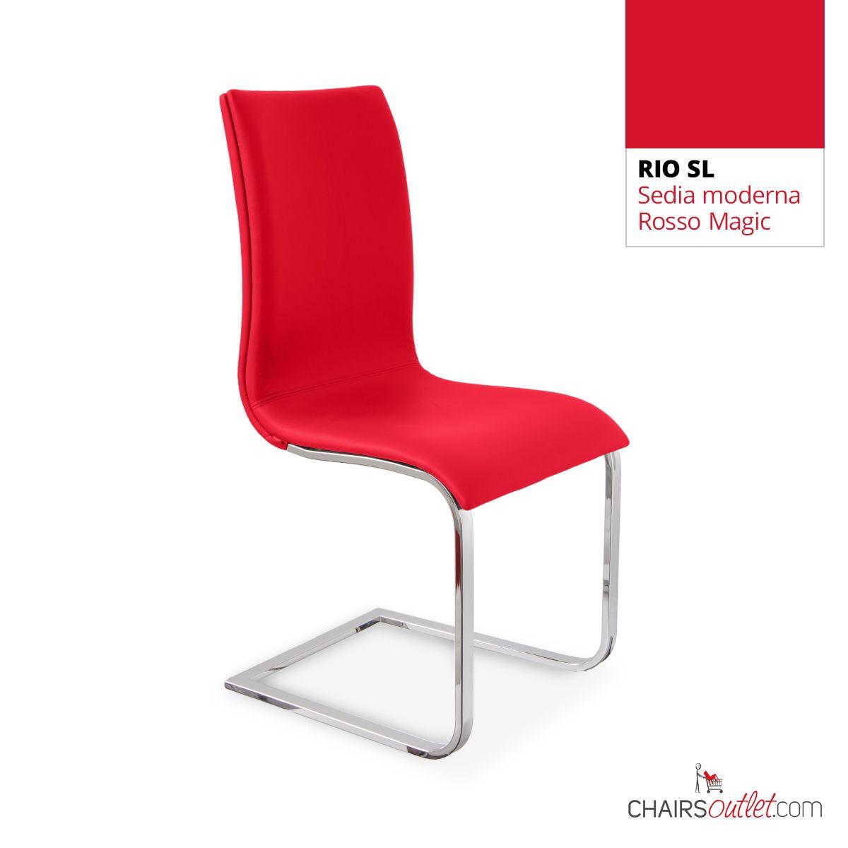 € 139,70 RIO-SL #sedia moderna, base cantilever, in #offerta ...