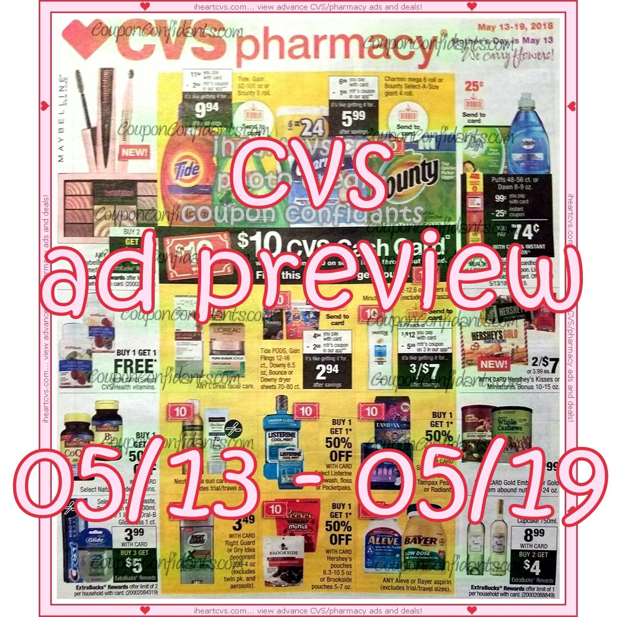 05/13 05/19 Cvs, Neon signs, Coupons