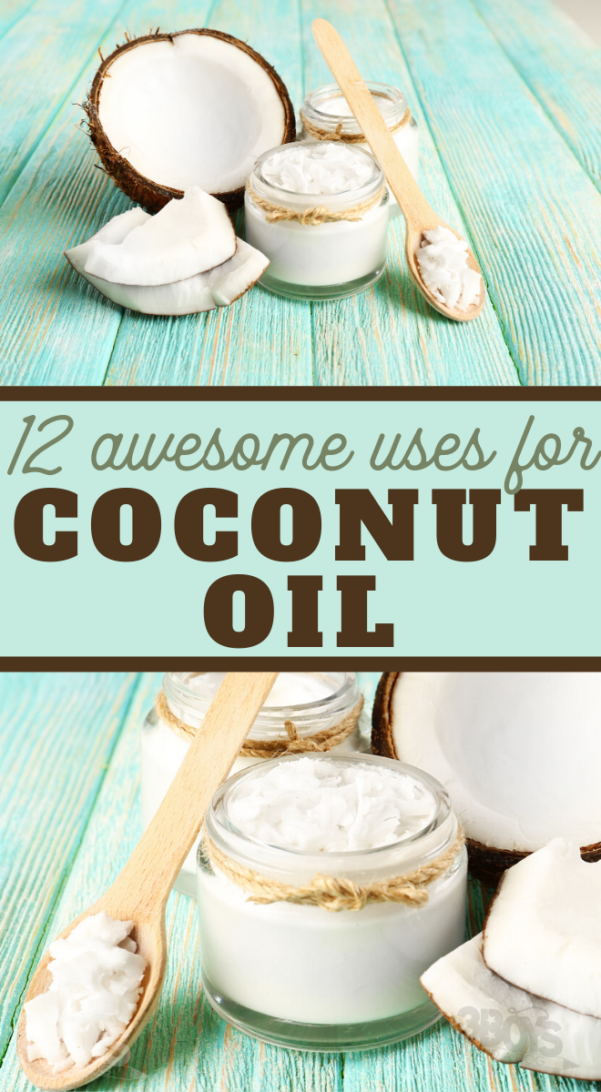 12 Amazing Ways to Use Coconut Oil Around the House in