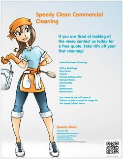 Did You Know Vistaprint Has Flyers Check Mine Out Cleaning Business Cards Cleaning Flyers Cleaning Service Flyer
