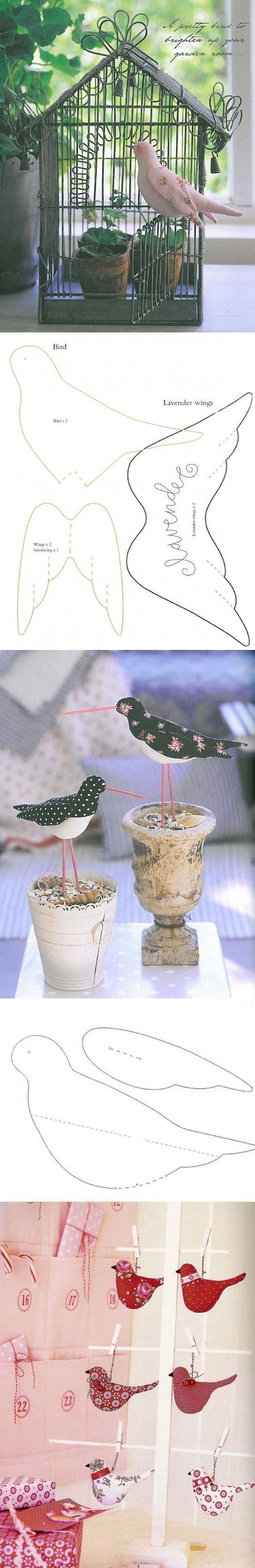 Птичка тильда выкройка. Птицы: попугай, тупик, маленькая птичка и певчая птичка.   тильда мастер (тильдамастер)