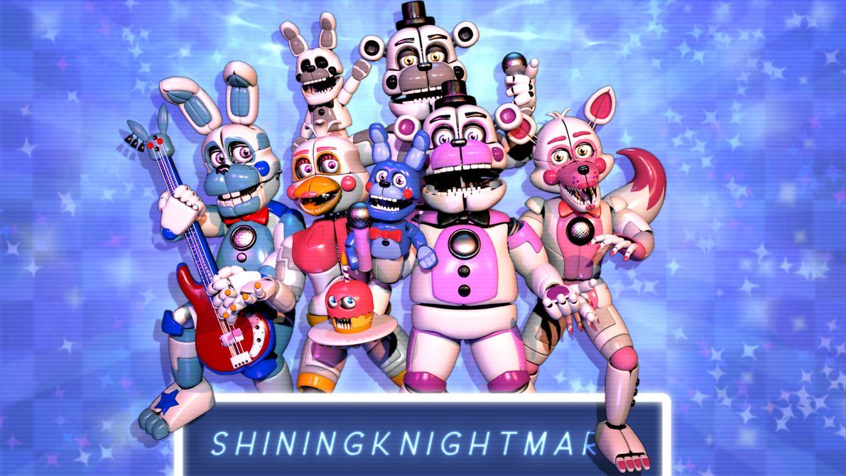 SFM/FNAFSL] Fantasy and Funtimes! by ShiningKnightmare (With ...