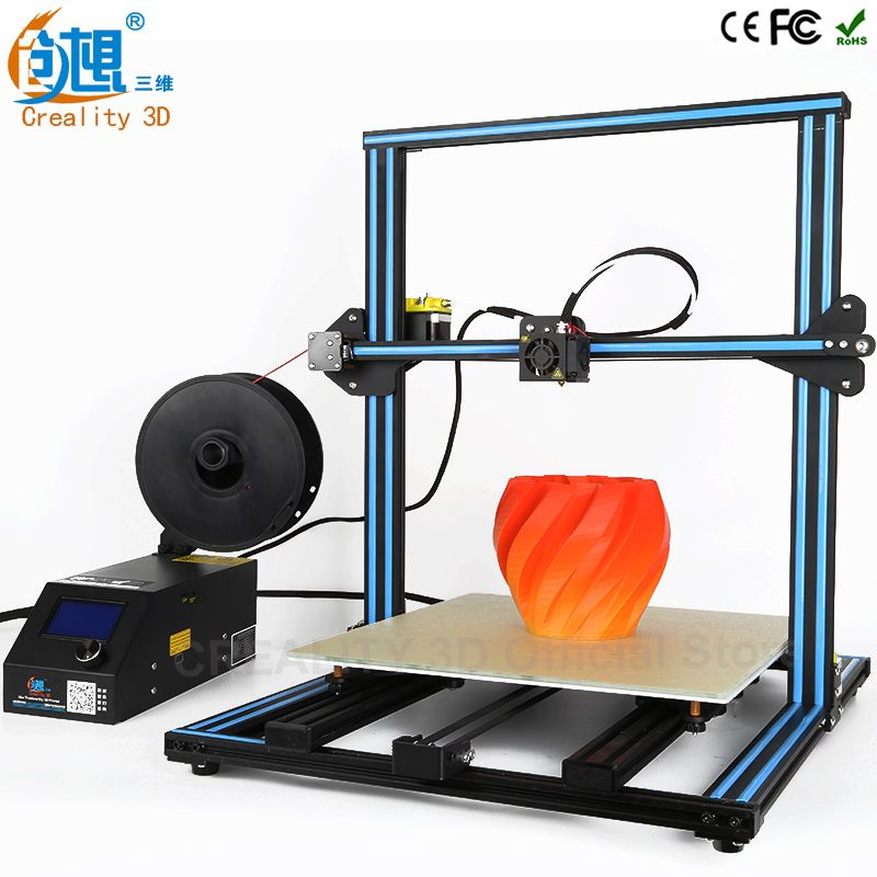 Creality 3d Printer Cr 10 Large Print Size 500 500 500mm Full Metal 3d Printer Kit Easy And Quick Build With Filamen 3d Printer Kit 3d Printer Metal 3d Printer