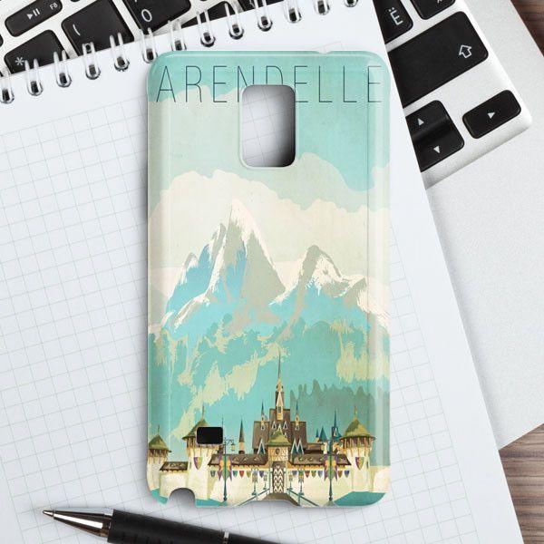 Palace Snow Land Cartoon Movie Samsung Galaxy Note 4 Case | casefantasy