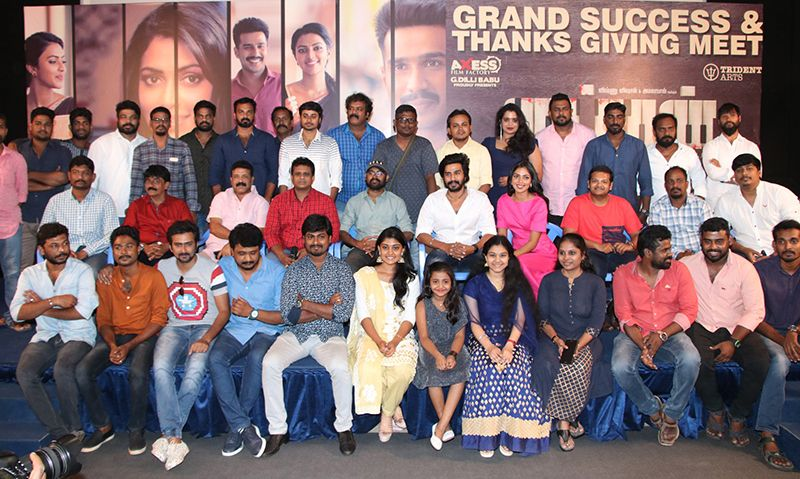 Vishnu Vishal, Amala Paul At Ratchasan Movie Thanks Meet