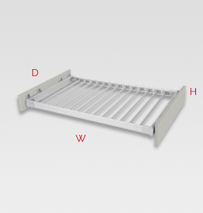 900mm slide out trouser rack specs and instructions