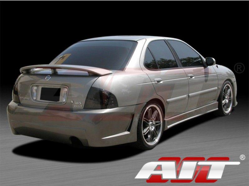 Zen Style Rear Bumper For Nissan Sentra 2004 2006 Autos Coches