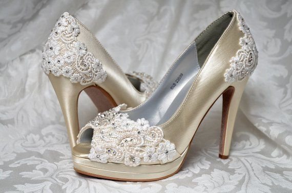 f5976e2ac41 Wedding Shoes- Free Custom Colors- Heels
