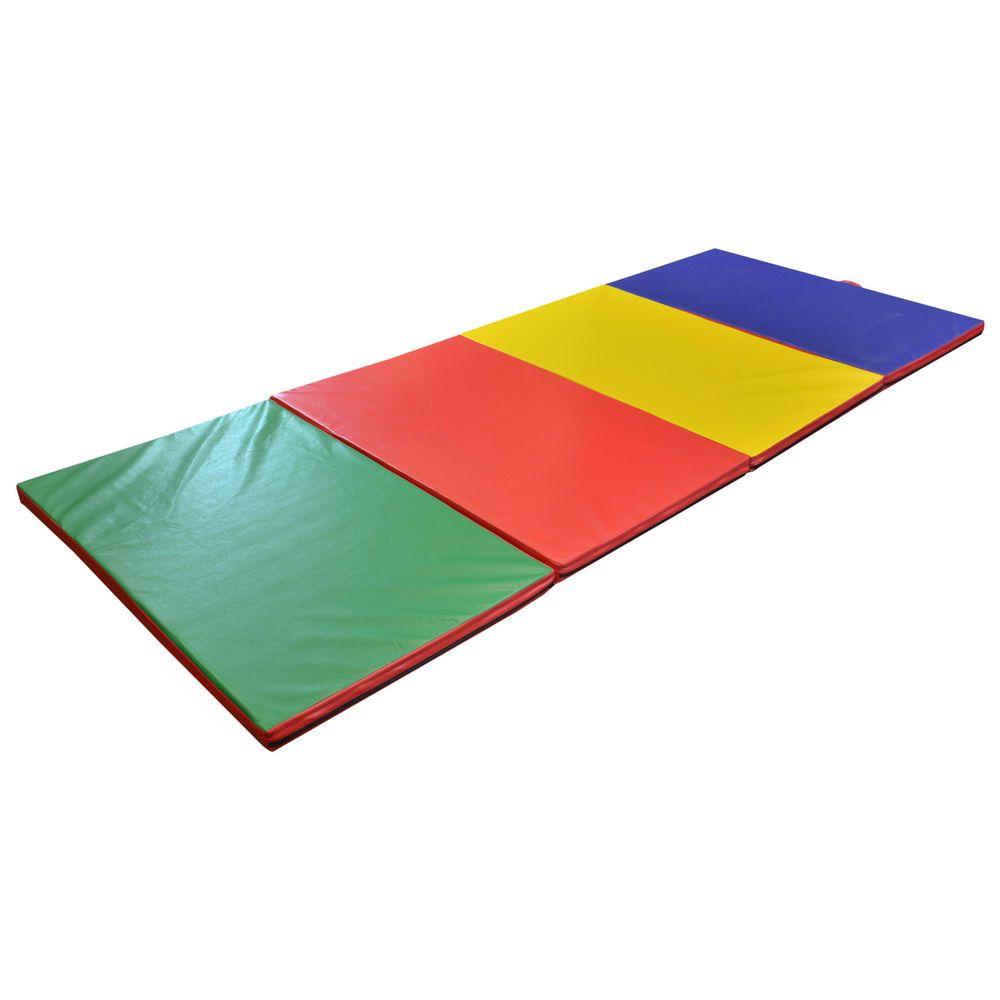 Turnmatte Kinderzimmer | Turnmatte Bodenmatte Weichbodenmatte Gymnastikmatte Klappbar