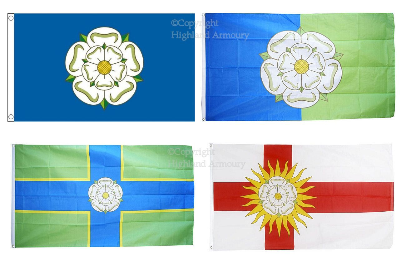 West Riding Of Yorkshire  Flag 5 x 3ft Fly From A Flag Pole
