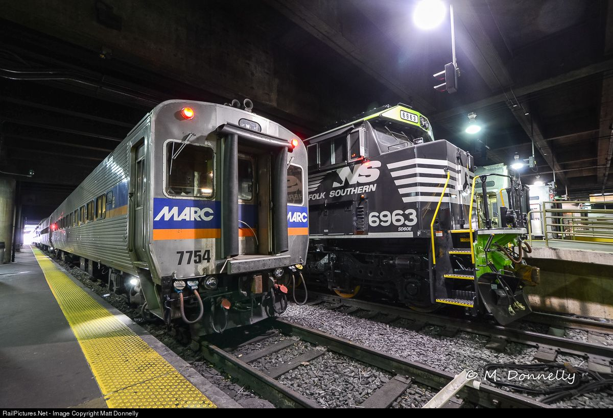 RailPictures.Net Photo: NS 6963 Norfolk Southern EMD SD60E at Washington, District of Columbia by Matt Donnelly