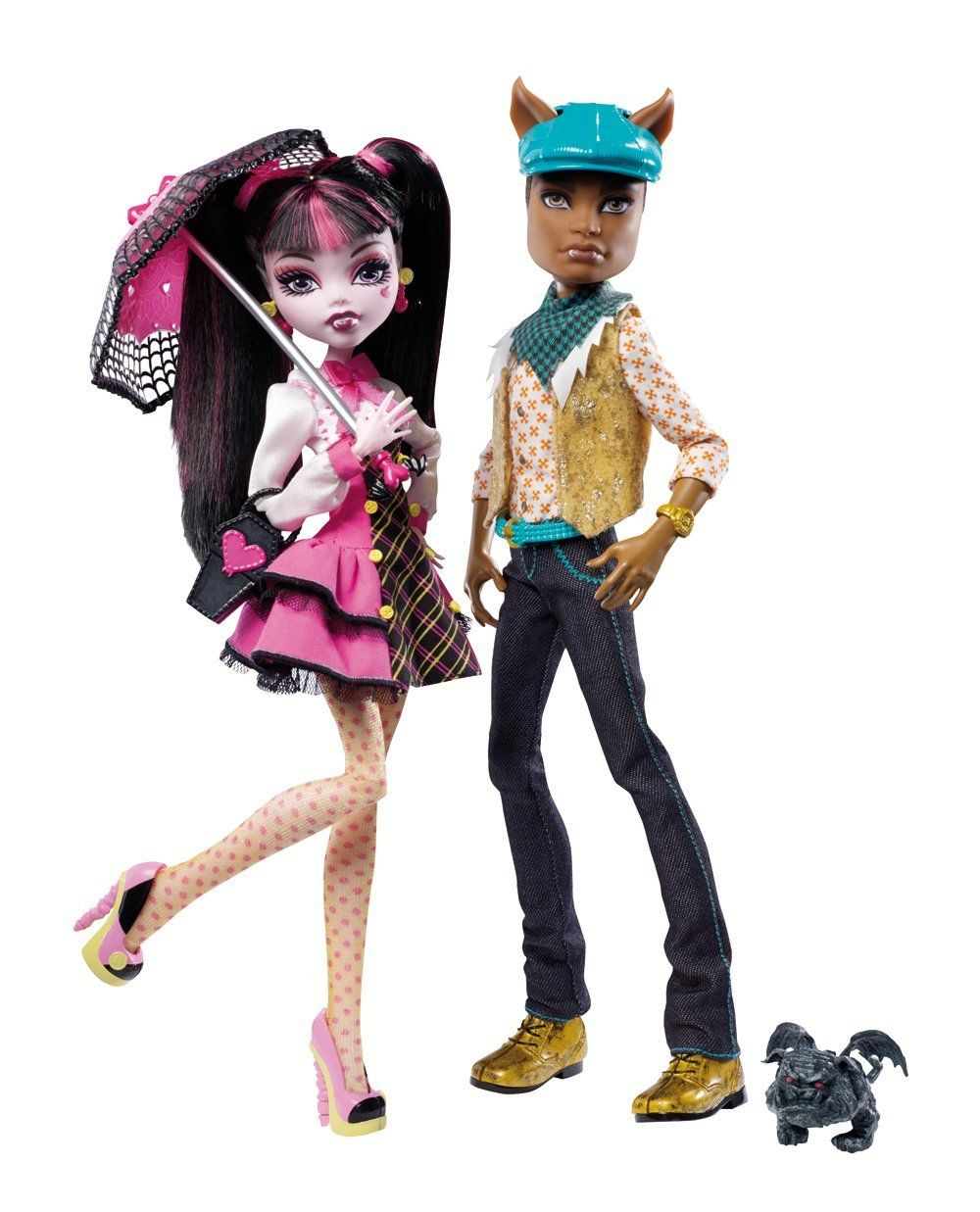Uncategorized Monster High Clawd httpwww amazon commonster high draculaura clawd giftsetdp wanted monster and wolf doll giftset wave 2