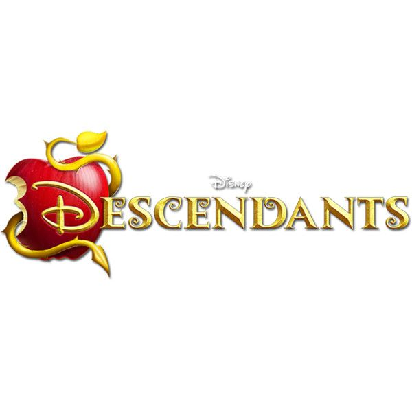 Descendants Logo Png Liked On Polyvore Featuring Descendants Disney Fillers Text Extra Phrase Qu Descendants Disney Descendants Face Painting Halloween
