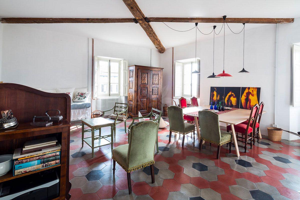 Moderno E Antico Arredamento arredamento moderno e antico si fondono in questa sala con
