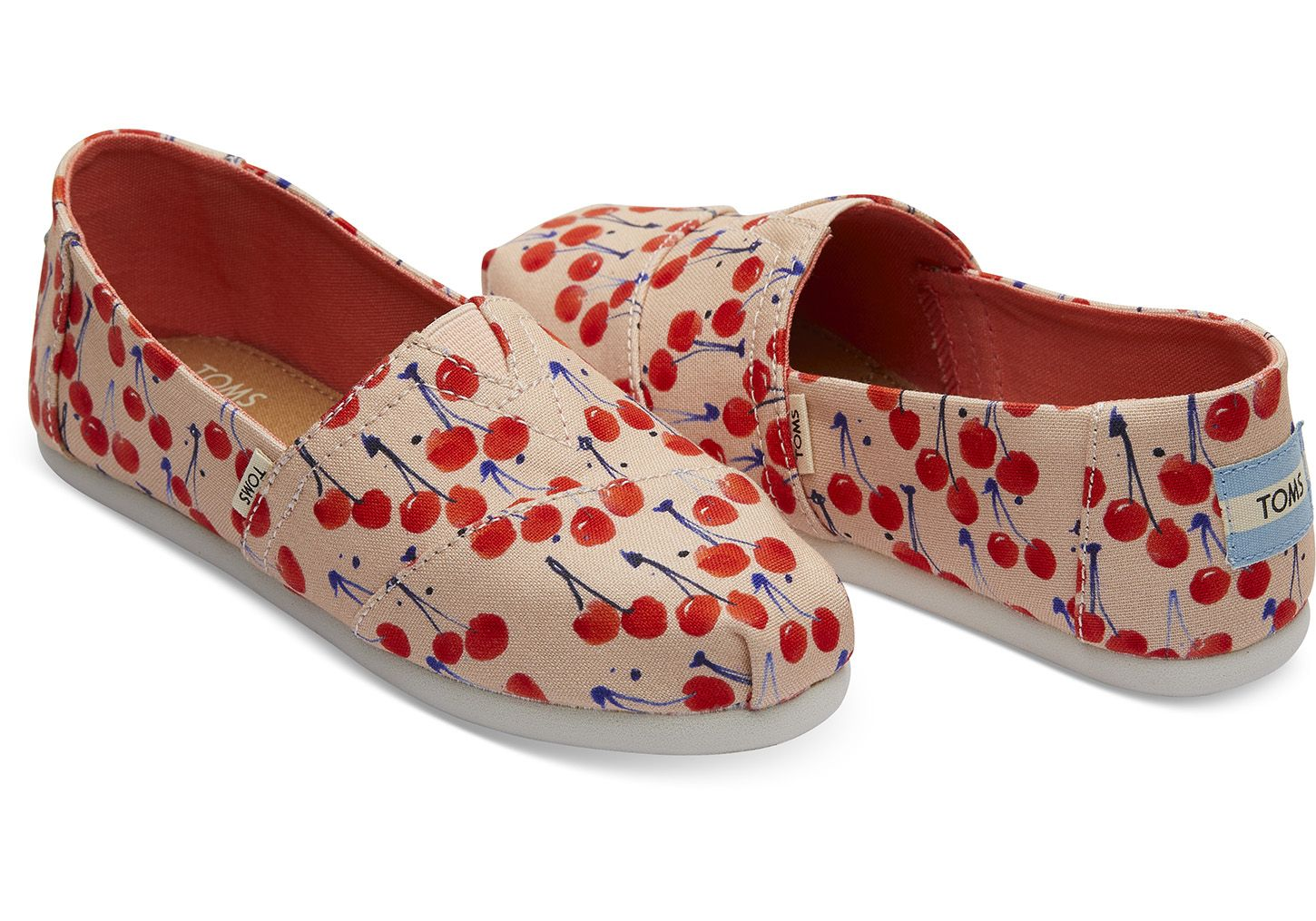 17420e63f36 Coral Pink Cherry Cherie Print Youth Classics