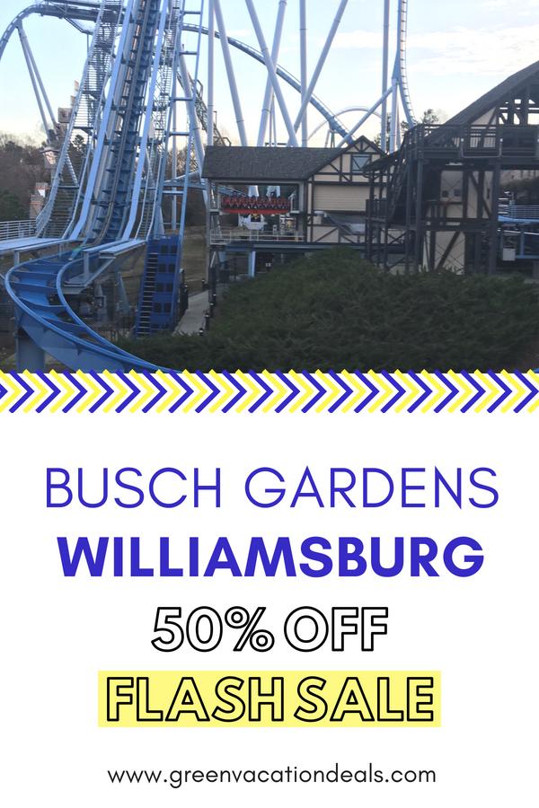 Free Beer At Busch Gardens Williamsburg
