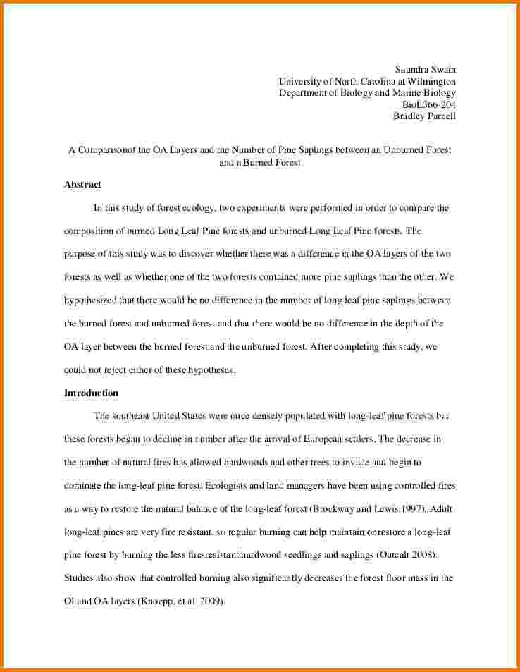 Lab Report Example - Lab reports ought to be meticulous In order to