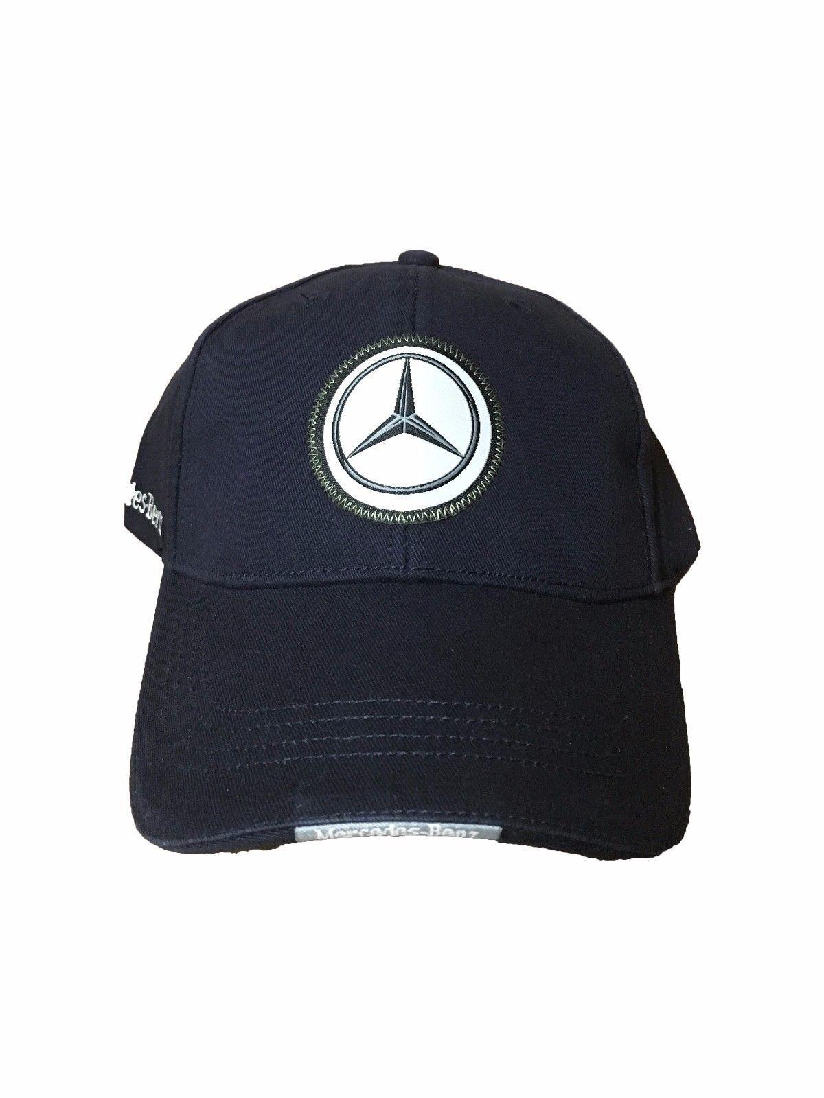 Mercedes Benz Hat Cap Adjustable Navy Blue Men s  f89dfeae8998
