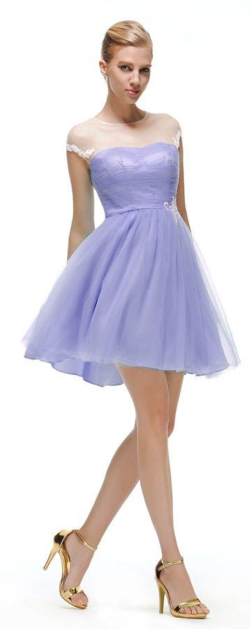 Lavender short homecoming dresses under 100 | Lavender homecoming ...