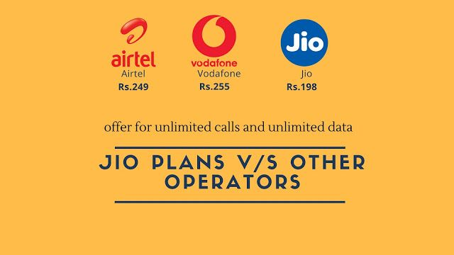 PHONE DOODLE Jio all plans and offers as of April 2018