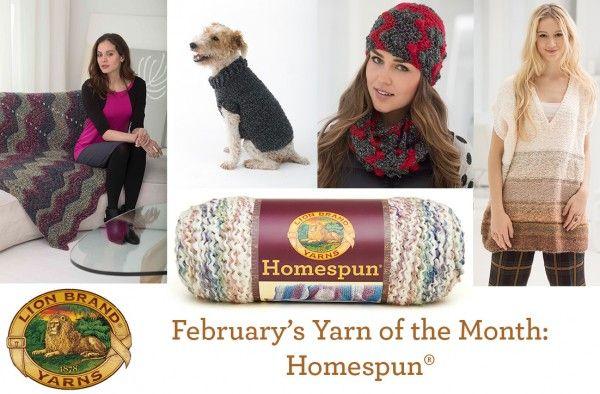 Until February 28th, Save 20% on Homespun!