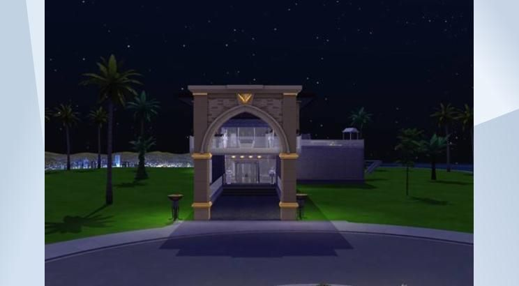 Check out this lot in The Sims 4 Gallery! - Chateau Peak is