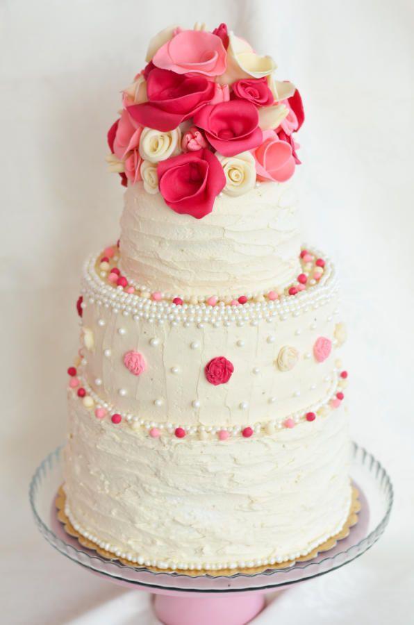 wedding cake romanse - Cake by Crema pasticcera by Denitsa Dimova