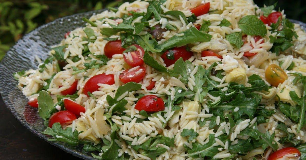 The Maili Files: Orzo Arugula Salad