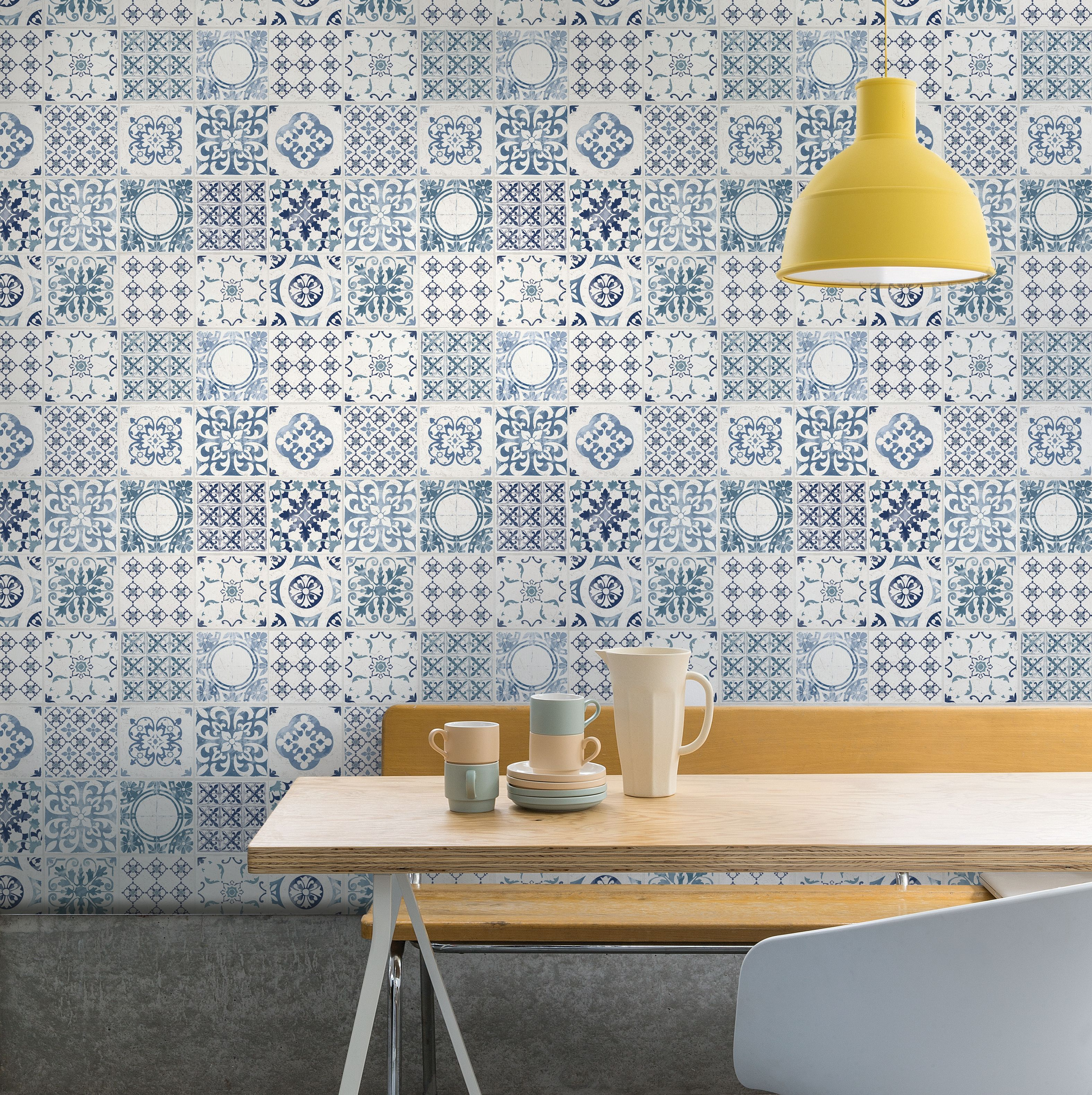 AS Creation Moroccan Mosaic Tiles Wallpaper in 2020