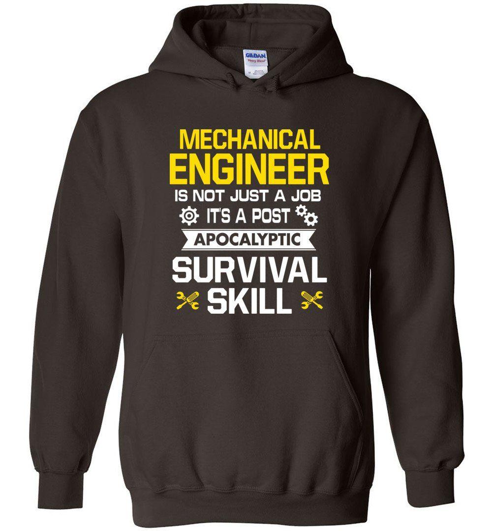 6cb316cfad Mechanical Engineer - Hoodie | Digital Design and Manufacturing ...