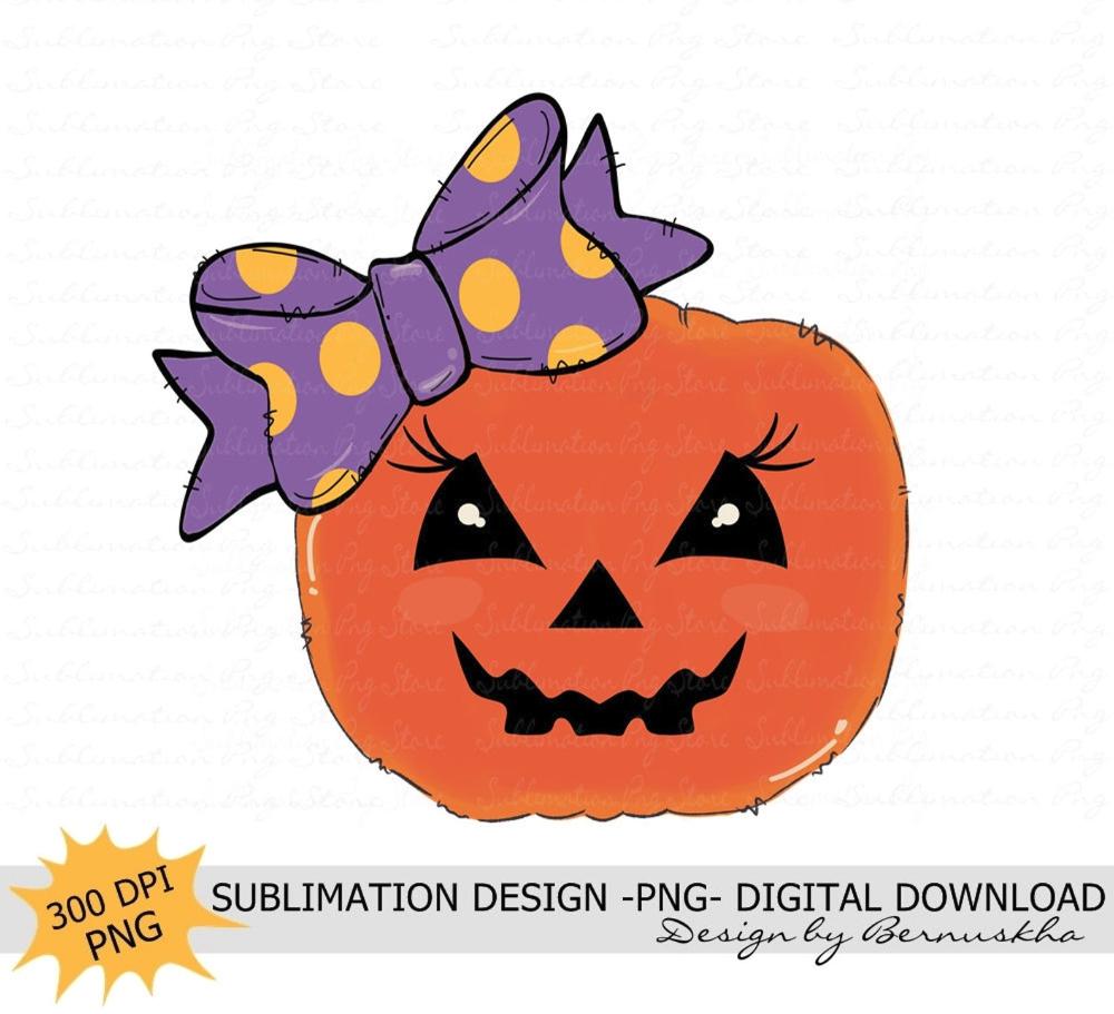 Halloween 2020 On Digital Download Halloween Pumpkin Sublimation Design Digital Download Pumpkin