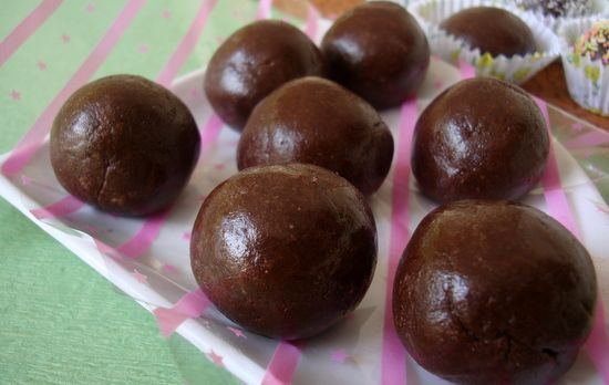 Marie Biscuit Chocolate Balls Recipe Is An Easy To Make Food Recipe That Makes For A Quick Dessert To S Choco Balls Recipe Chocolate Balls Recipe Marie Biscuit
