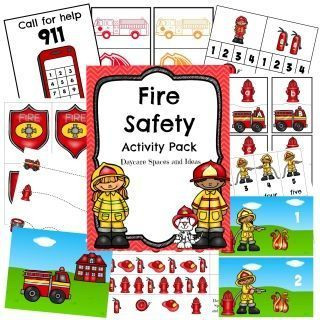 Fire Safety Activity Pack-Digital Download #911craftsfortoddlers Are+you+looking+for+activities+for+your+Tot+Trays?+Morning+Work+for+your+Students?+Are+you+having+trouble+finding+activities+to+add+to+your+learning+centers?++I+have+designed+these+activities+to+be+used+with+simple+manipulatives+that+you+probably+have+laying+around+the+house,+or+your+classroom+(Clothespins,+Pom+Poms,+Etc.).+Each+pack+contains+a+variety+of+activities+that+focus+on+some+of+the+following+skills:+Colors,+Shapes,+Upperc #911craftsfortoddlers