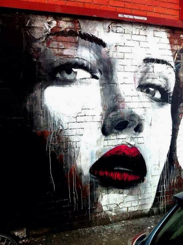 """Street Art Avenue en Twitter: """"Magnifique r_o_n_e RT @streetgalerie: #streetart - Melbourne http://t.co/qda8VWSkak"""""""