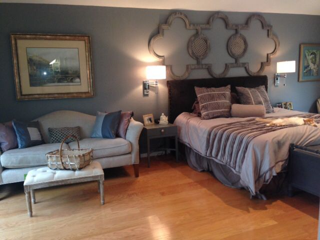Master Bedroom, Wall Sconces Next To Bed,