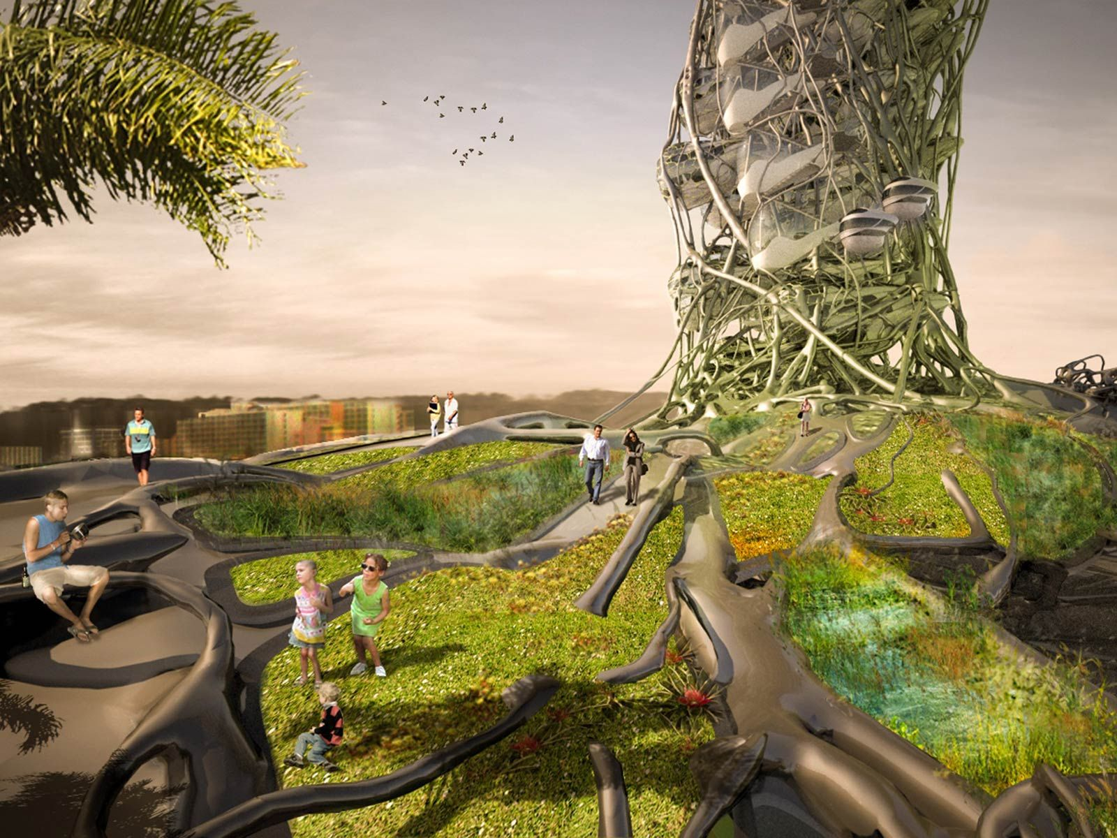 Suspensos, flutuantes e aéreos: veja hotéis do futuro