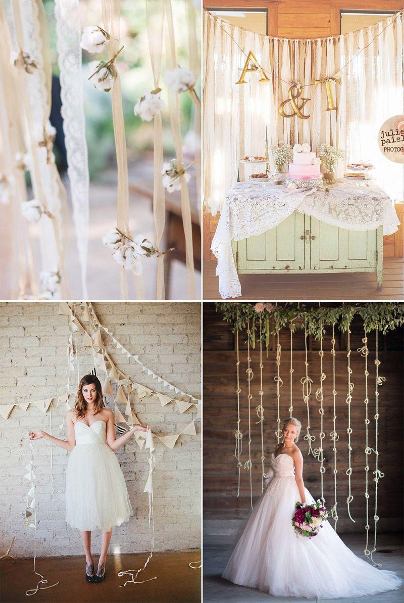 Telones de fondo para bodas – Sorprendea tus invitados!