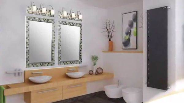 Tile N Decor Omg Love The Tileframing Mirrors Idea N The Decor Of This