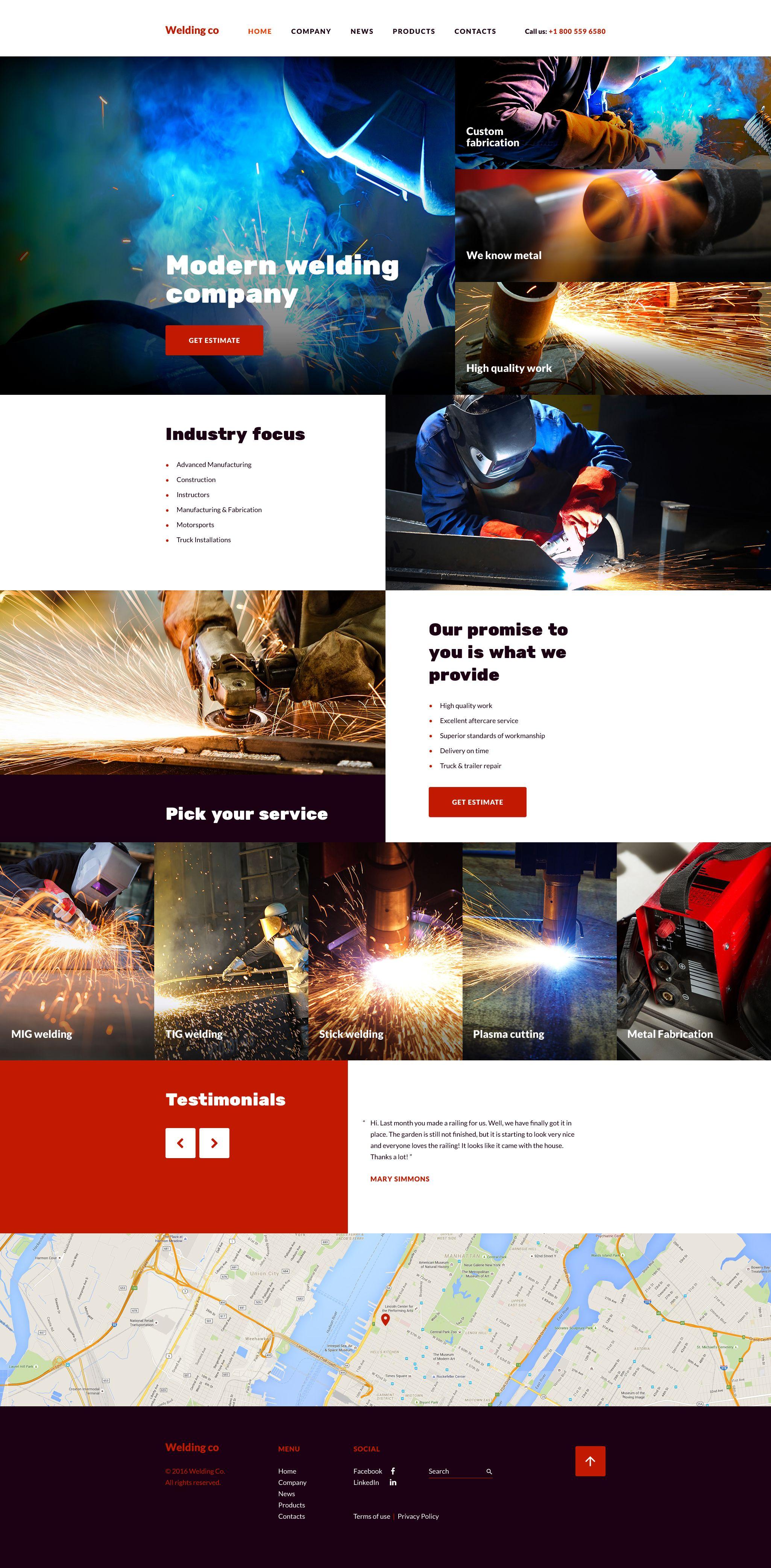 welding co website template new website templates pinterest