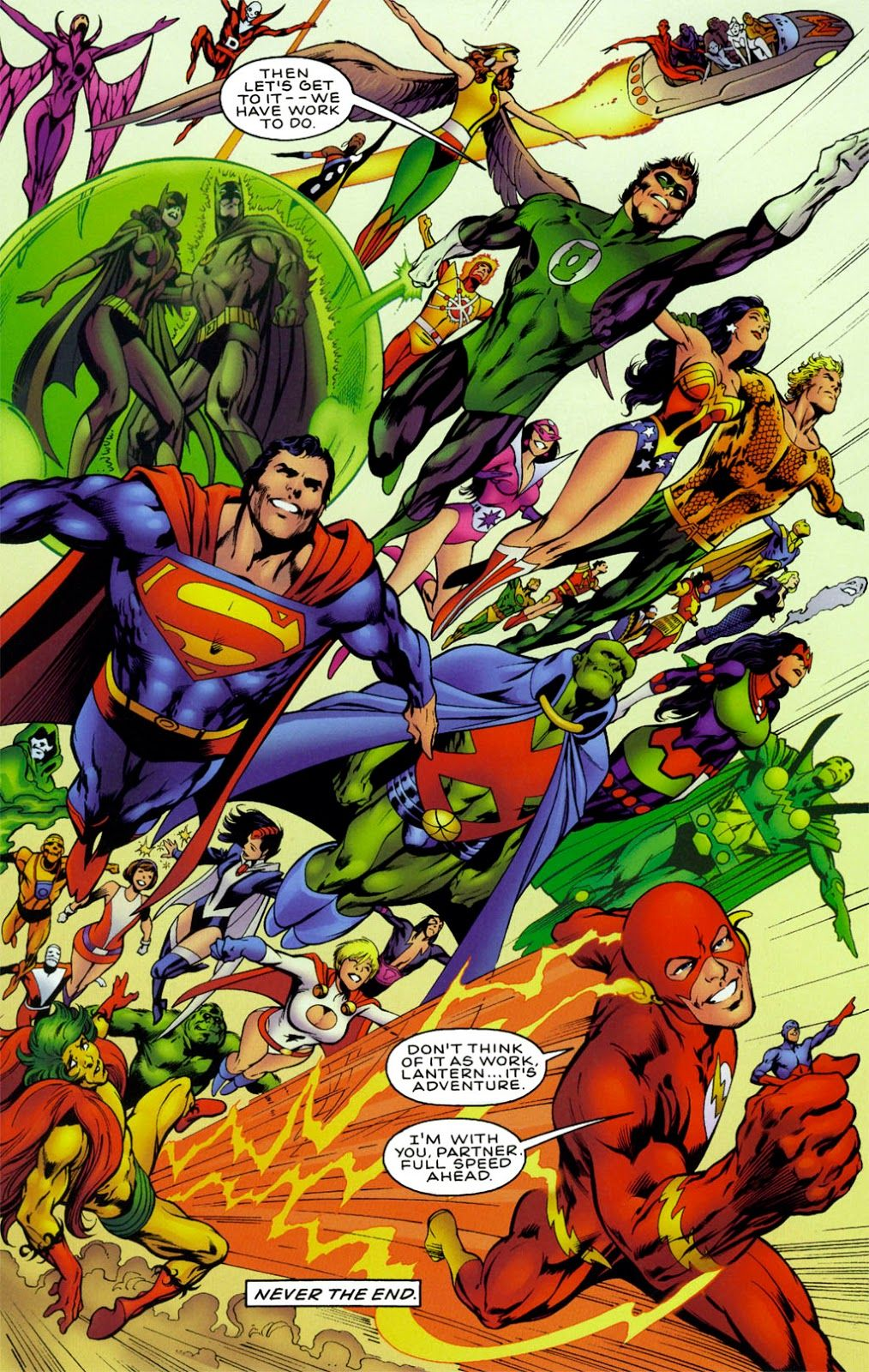 JLA : Another Nail Issue #3 - Read JLA : Another Nail Issue #3 comic ...