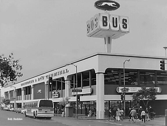 The Los Angeles Rtd Greyhound Station Opened In 1967 And