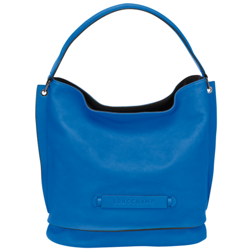 Besace - Longchamp 3D - Sacs - Longchamp - Bleu - Longchamp France ... b9ffe6a1ba9