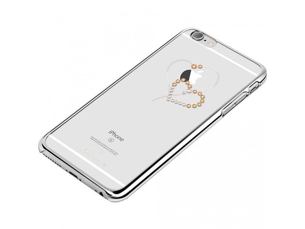 Kryt X-FITTED s krytaly Swarovski pro iPhone 6 Plus 6S Plus.  8e09eb8f8d9