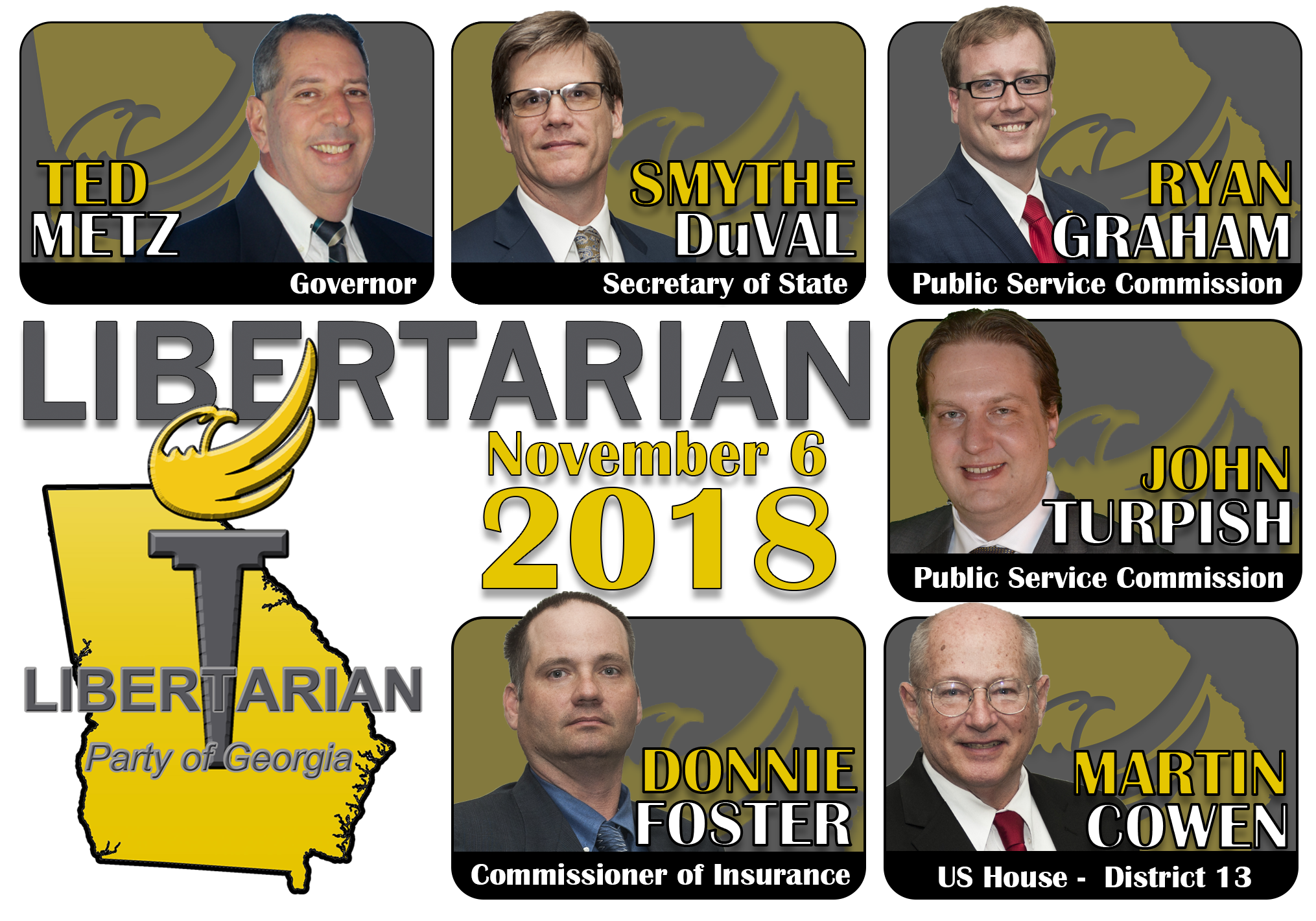 Georgia Meet Your State Wide Libertarian Candidates For