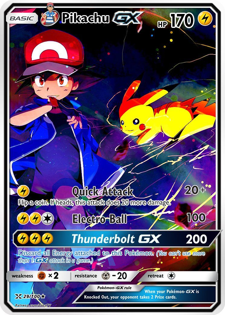 Pokemon Go Arena Karte.Ash S Pikachu Custom Pokemon Card Pokemon Pokemon Cards Rare