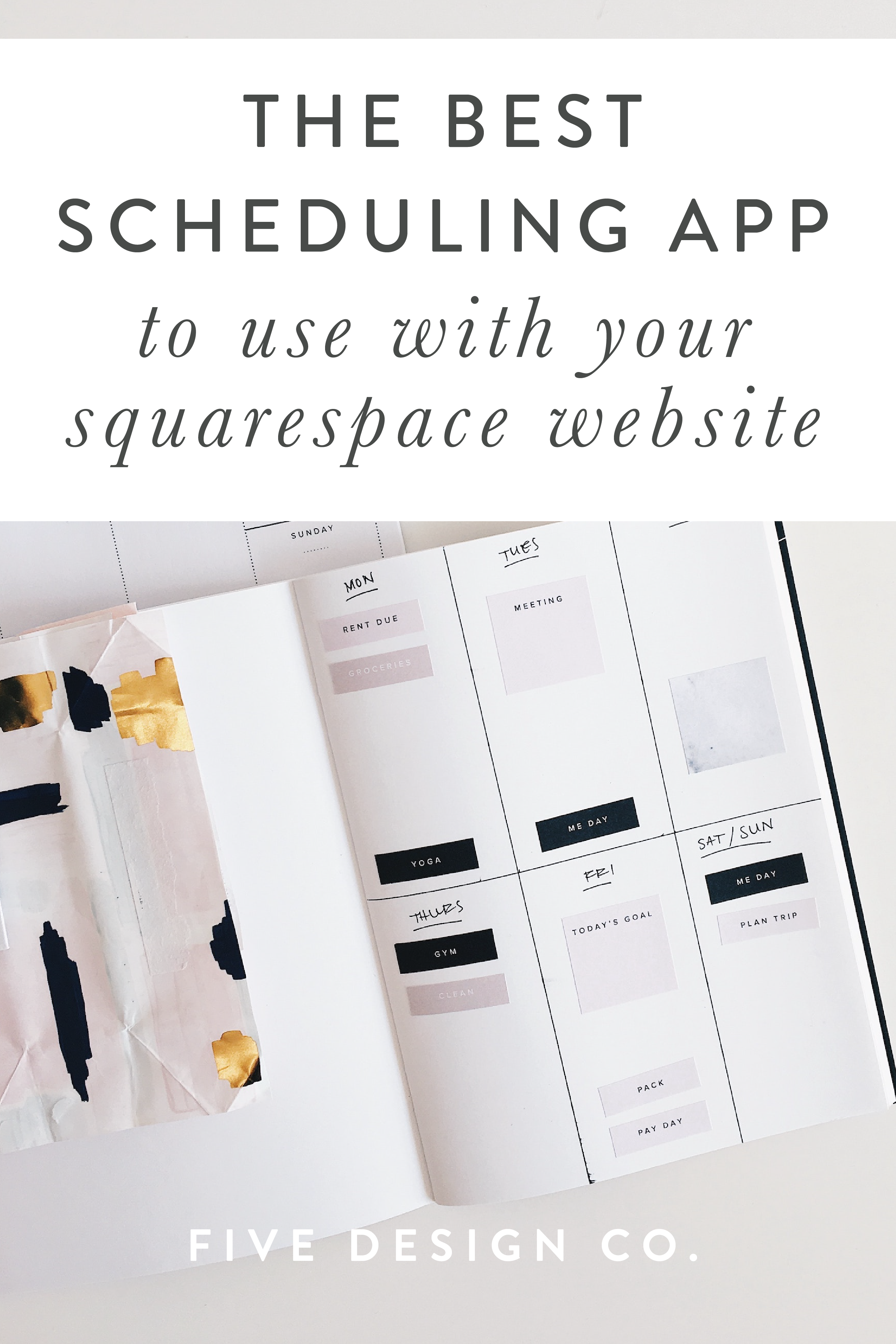 The Best Scheduling App for Your Squarespace Website