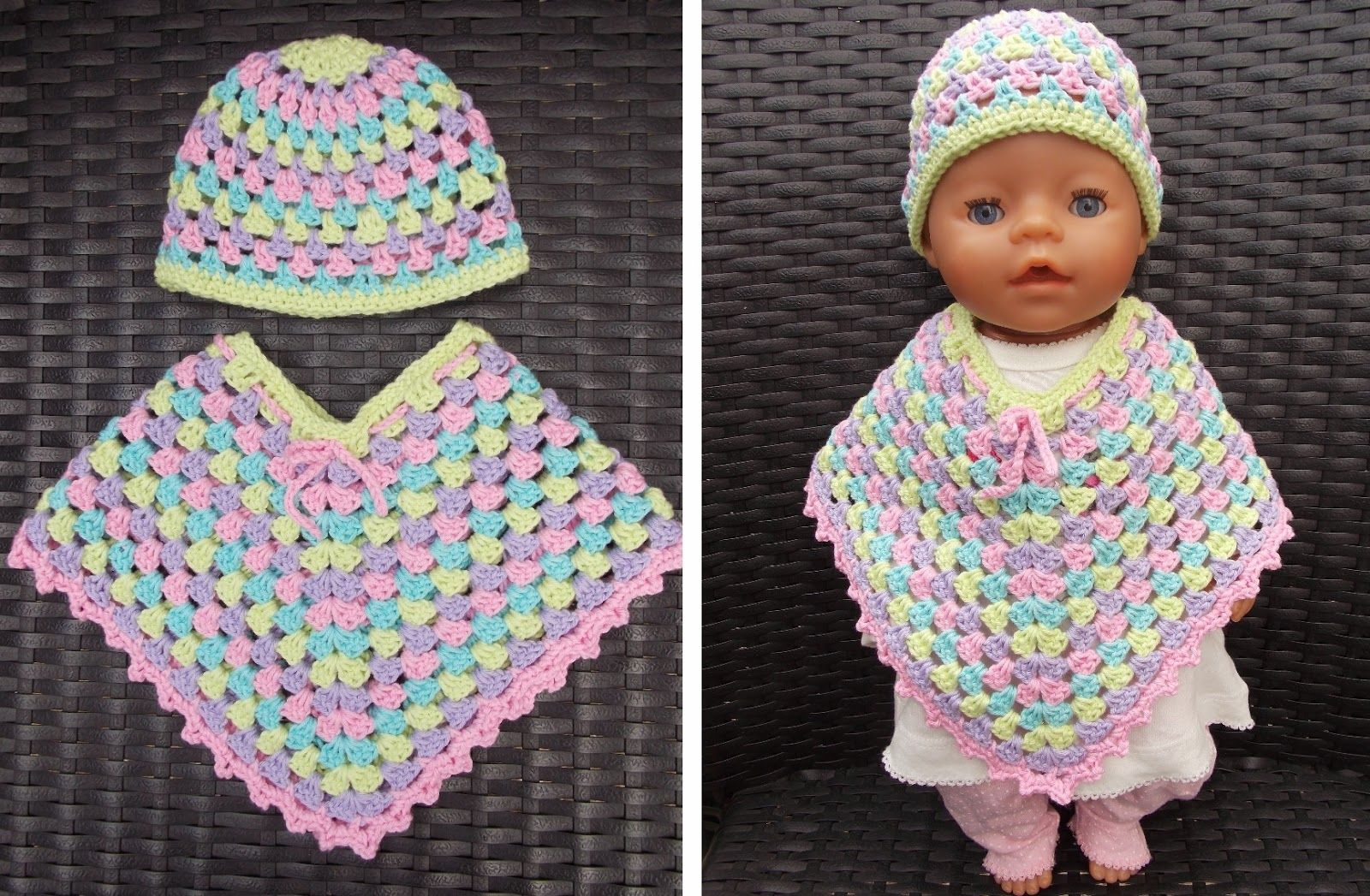 Renates Haken En Zo Kleren Voor Baby Born Pop Poppen Crochet